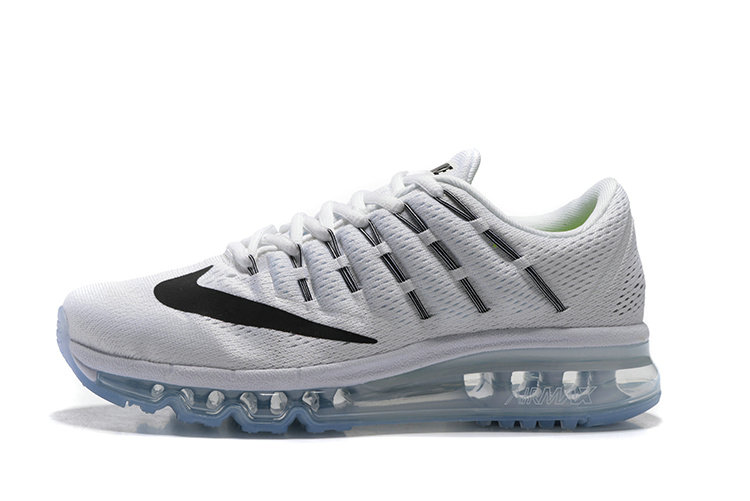 Cheap Wholesale AirMax 2016 Mens White Black
