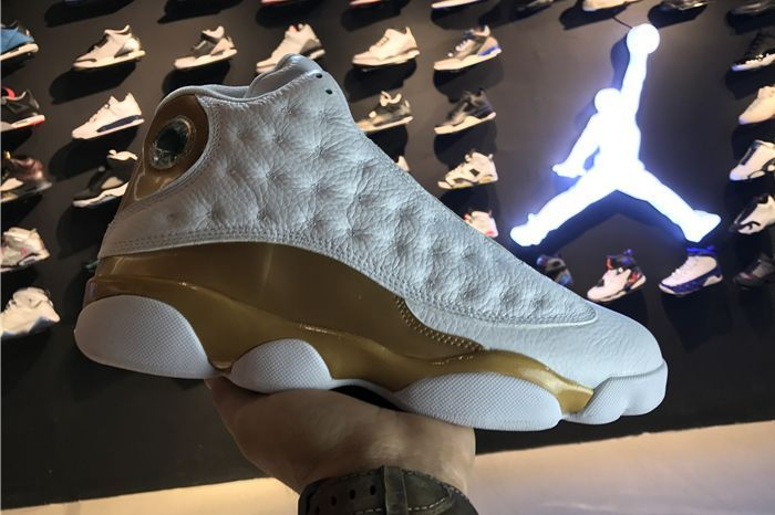 2017 Air Jordan 13 Retro DMP White Gold 414571-135 Cheap Wholesale Sale