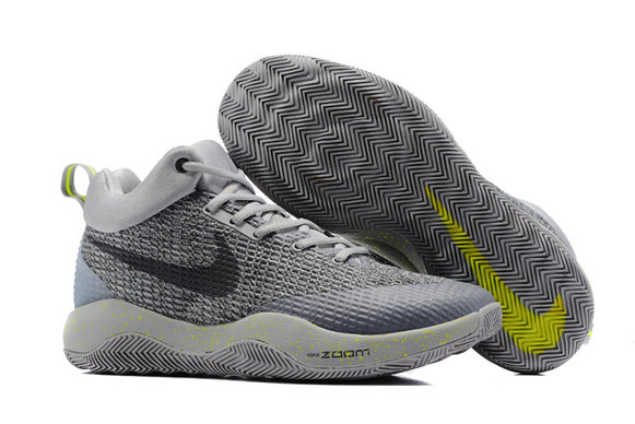 2017 Cheap Wholesale Nike Hyperrev Grey Black Yellow