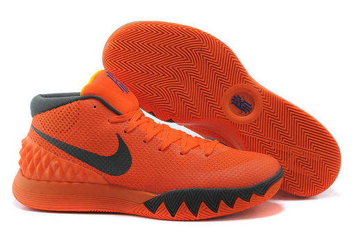 Cheap Wholesale Nike Kyrie 1 Wholesale Orange Dark Grey