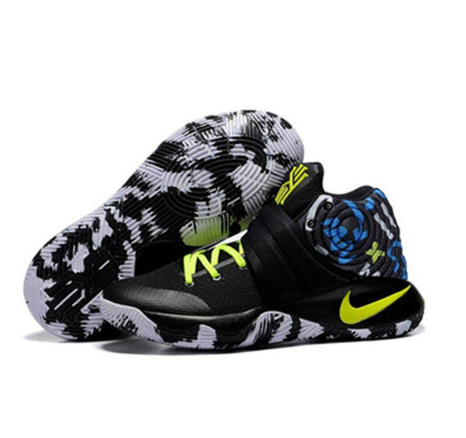 Cheap Wholesale Nike Kyrie Irving 2 camouflage yellow black