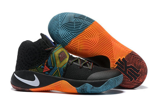 Cheap Wholesale Nike Kyrie 2 Womens BHM Orange Black