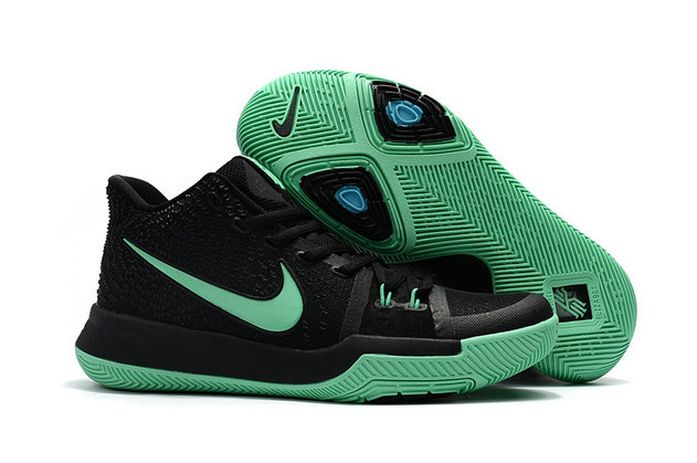 Cheap Wholesale Nike Kyrie Irving 3 Womens Grass Green Black