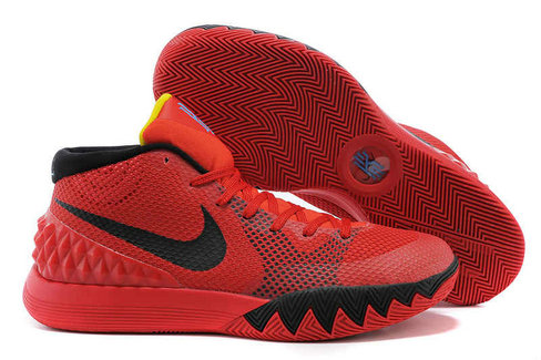 Cheap Wholesale Nike Kyrie 1 Wholesale Bright Crimson Black University Red Black 705277 606