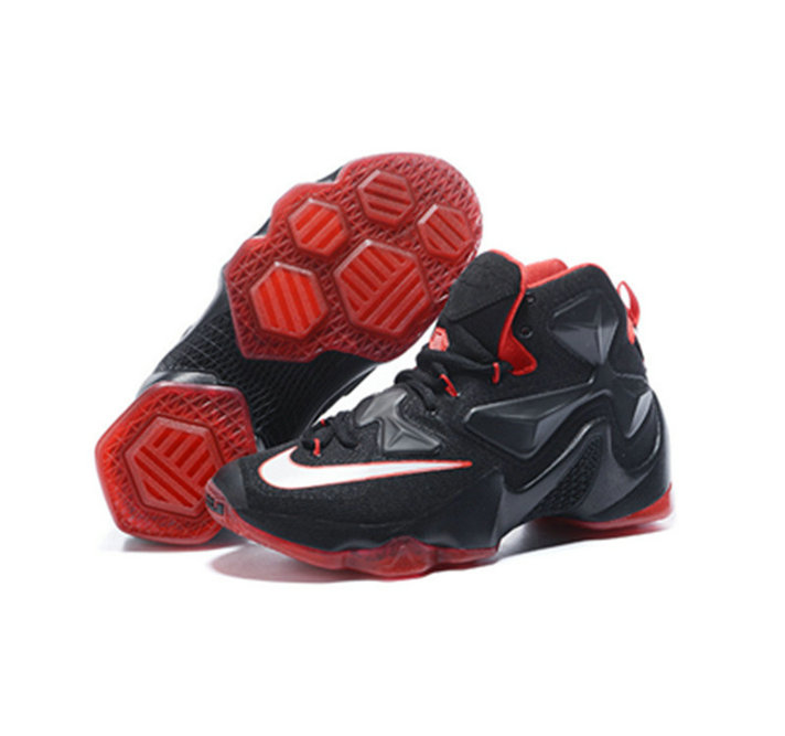 Cheap Wholesale Nike Lebron James 13 Basketball Shoes black red