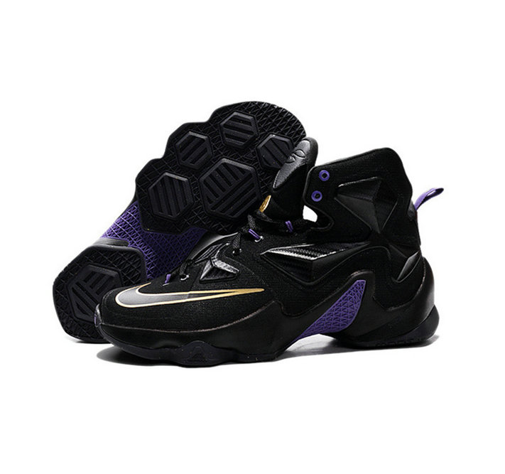 Cheap Wholesale Nike Lebron James 13 Basketball Shoes black