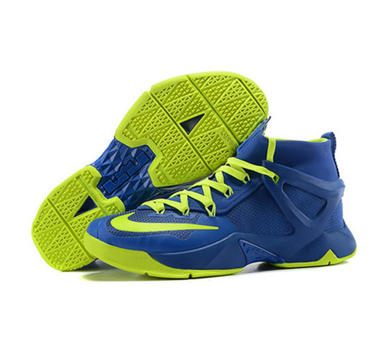 Cheap Wholesale Nike Lebron James 13 Basketball Shoes Blue Green