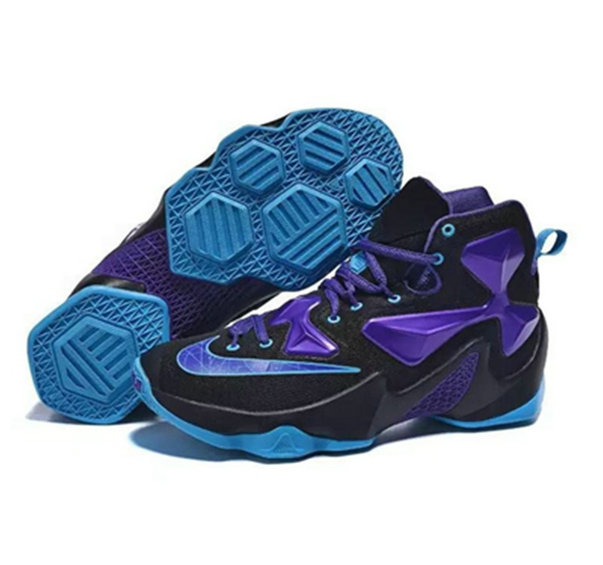Cheap Wholesale Nike Lebron James 13 Basketball Shoes black purple