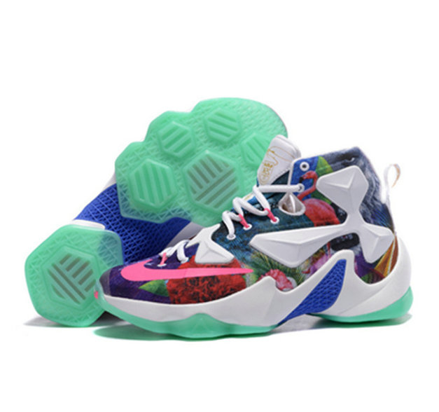 Cheap Wholesale Nike Lebron James 13 Basketball Shoes colorful