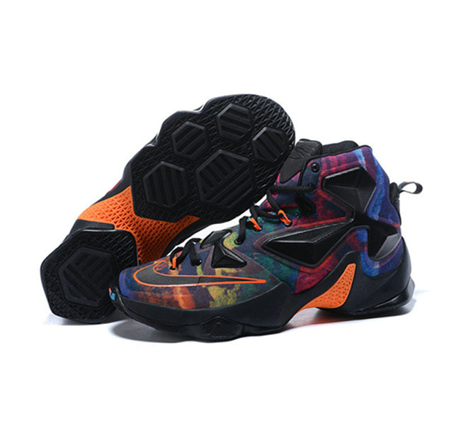 Cheap Wholesale Nike Lebron James 13 Basketball Shoes dark knight