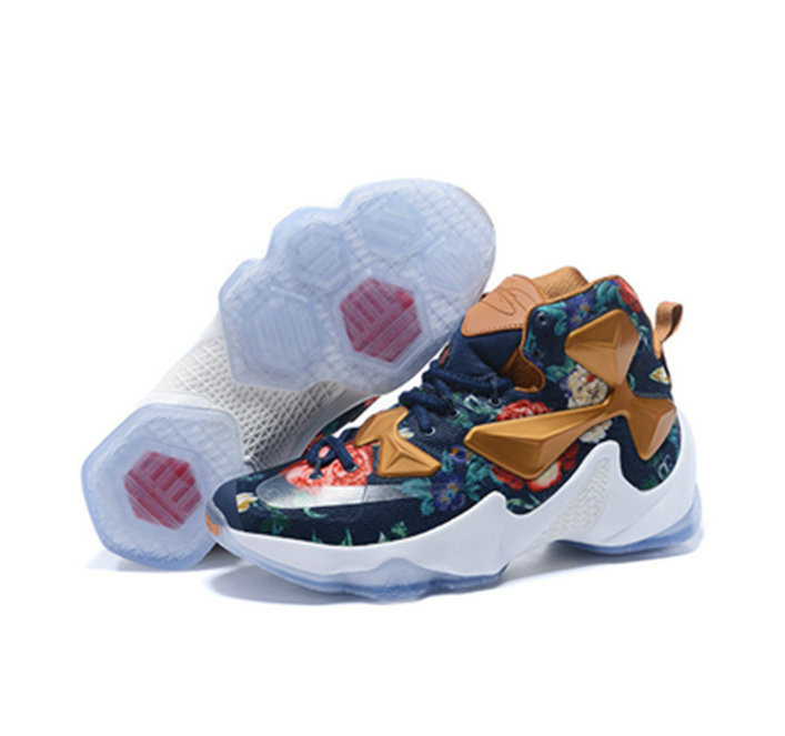 Cheap Wholesale Nike Lebron James 13 Basketball Shoes flowers