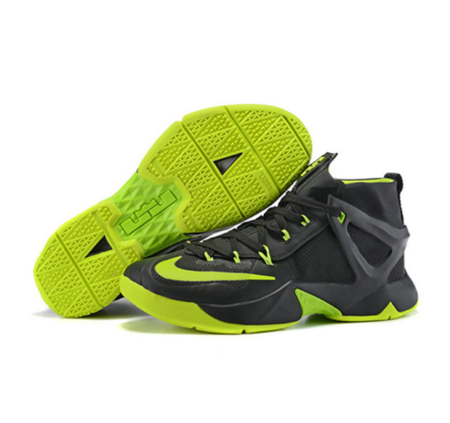 Cheap Wholesale Nike Lebron James 13 Basketball Shoes Green Black