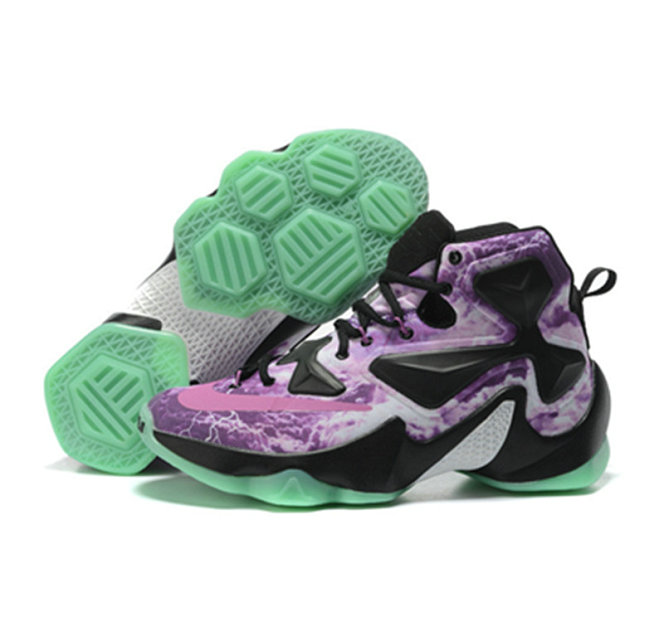 Cheap Wholesale Nike Lebron James 13 Basketball Shoes Lightning luminous