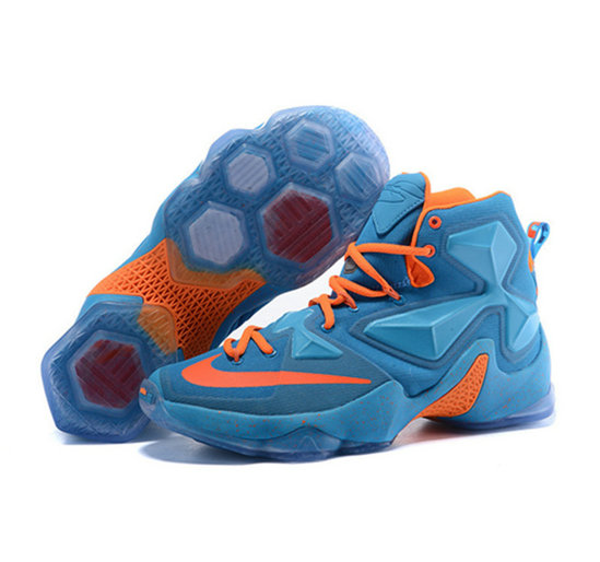 Cheap Wholesale Nike Lebron James 13 Basketball Shoes red orange