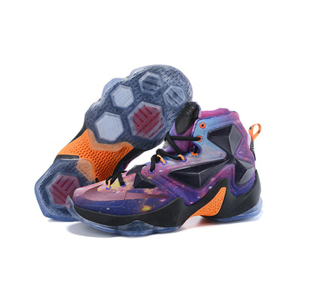 Cheap Wholesale Nike Lebron James 13 Basketball Shoes starry sky
