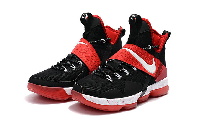 Cheap Wholesale Lebron 14 For Kids Red White Black