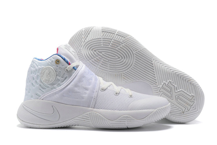 Cheap Wholesale Nike Kyrie Irving 2 - All White