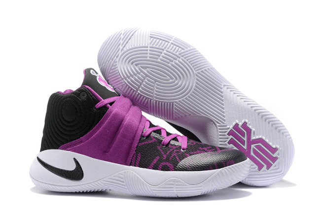 Cheap Wholesale Nike Kyrie Irving 2 - Purpke Black White