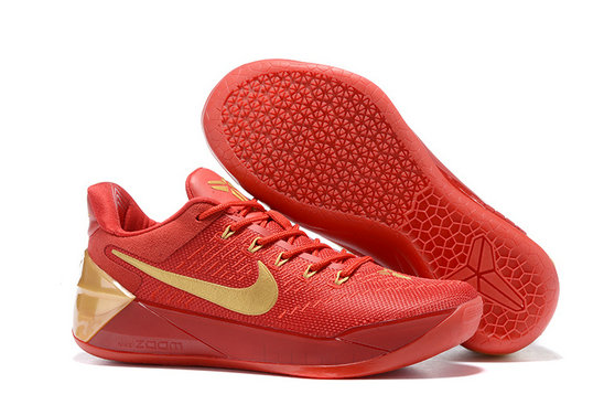 Cheap Wholesale Sale Womens Nike Kobe 12 Gold Red