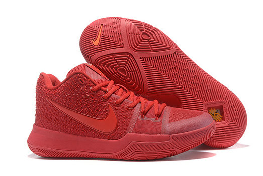 Cheap Wholesale Sale Womens Nike Kyrie Irving 3 All Red