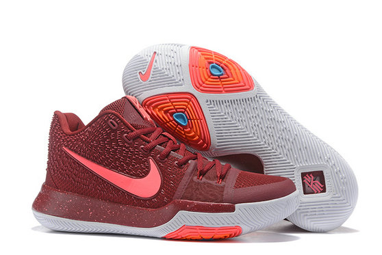 Cheap Wholesale Sale Kids Nike Kyrie Irving 3 Pink Red White