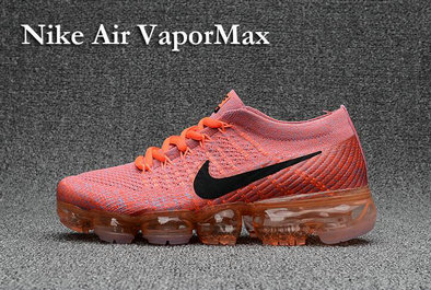 Cheap Wholesale Nike Air VaporMax 2017 Orange Rainbow Womens