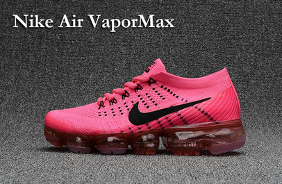 Cheap Wholesale Nike Air VaporMax 2017 Pink Black Womens