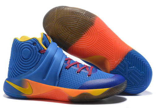 Cheap Wholesale NikeKyrieIrving 2 Blue Orange Red