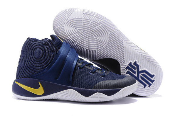 Cheap Wholesale NikeKyrieIrving 2 Navy Blue Yellow White