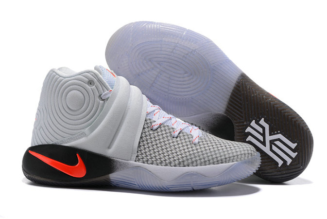 Cheap Wholesale NikeKyrieIrving 2 White Black Grey Orange