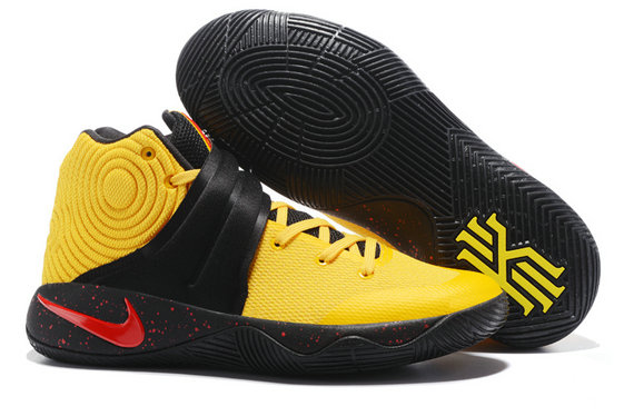 Cheap Wholesale NikeKyrieIrving 2 Yellow Black Red