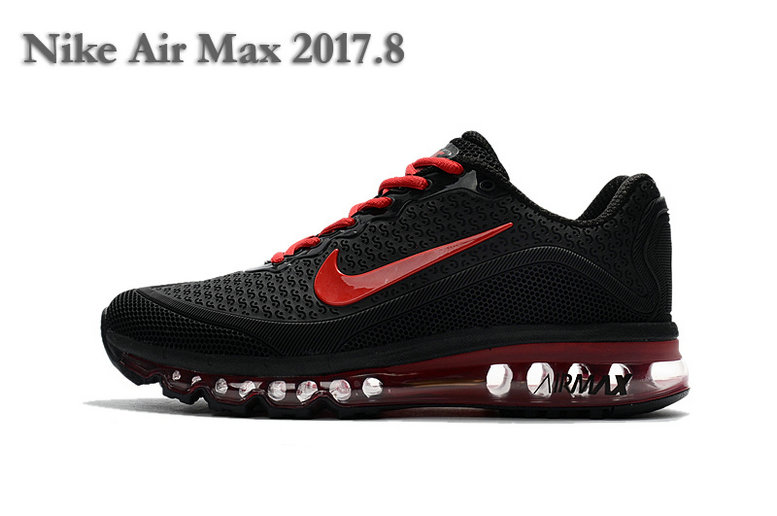 Cheap Wholesale Nike Air Max 2017 Fire Red Black Womens