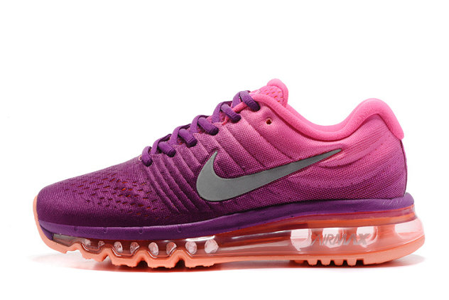 Cheap Wholesale Nike Air Max 2017 Purple Pink Grey Womens