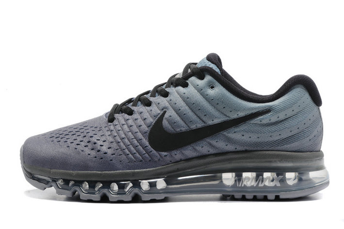Cheap Wholesale Nike Air Max 2017 Black Grey Womens