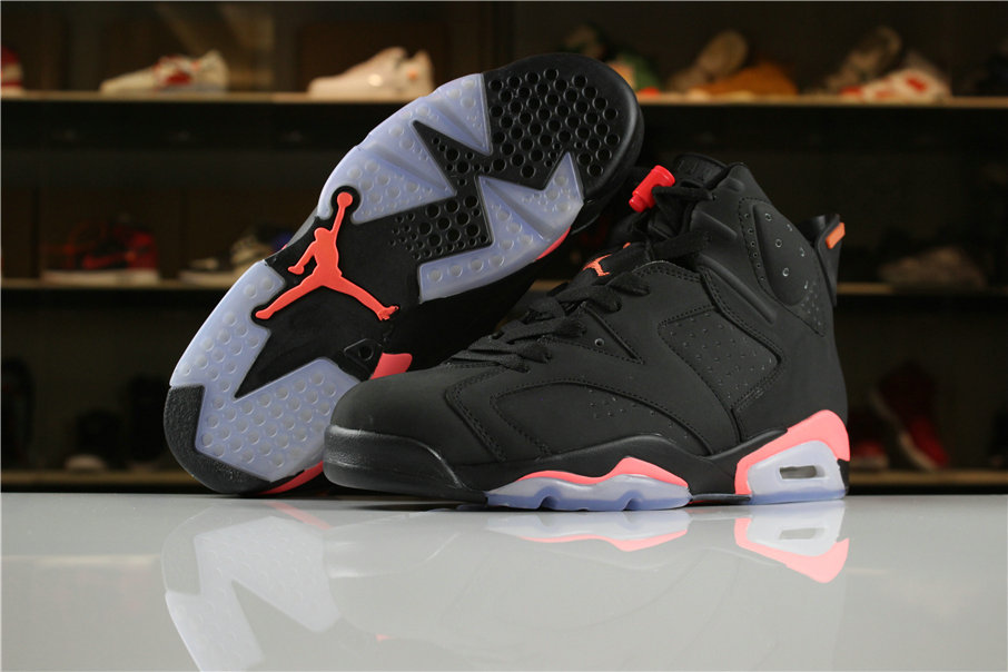 b6fd39b4b349 Cheap Wholesale Air Jordan Shoes x Cheap Wholesale Nike Air Jordan 6 Black  Infrared