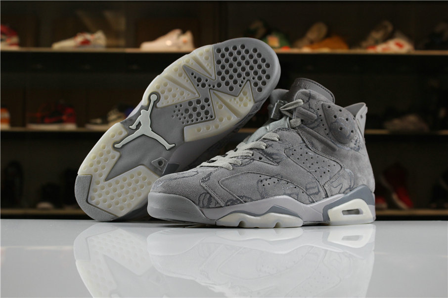 wholesale dealer badf8 885a0 Cheap Wholesale Air Jordan Shoes x Cheap Wholesale Nike Air Jordan 6 Wolf  Grey