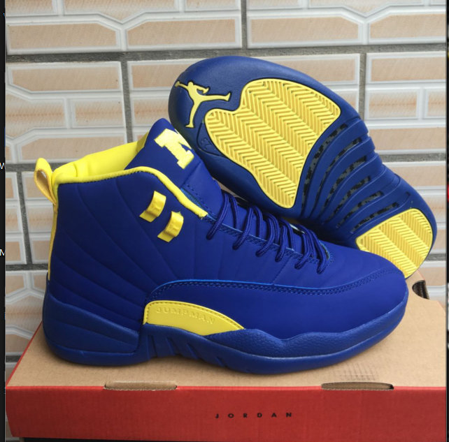 Cheap Wholesale Air Jordan Shoes x Cheap Wholesale Nike Air Jordan 12  Michigan 8fe5ff566