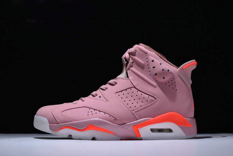 Cheap Wholesale 2018 Aleali Mays Air Jordan 6 Retro Millennial Pink For Sale