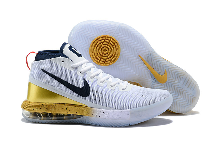 new arrival 13fe4 0f5d0 2018 Cheap Nike Air Max Dominate Gold White Navy Blue