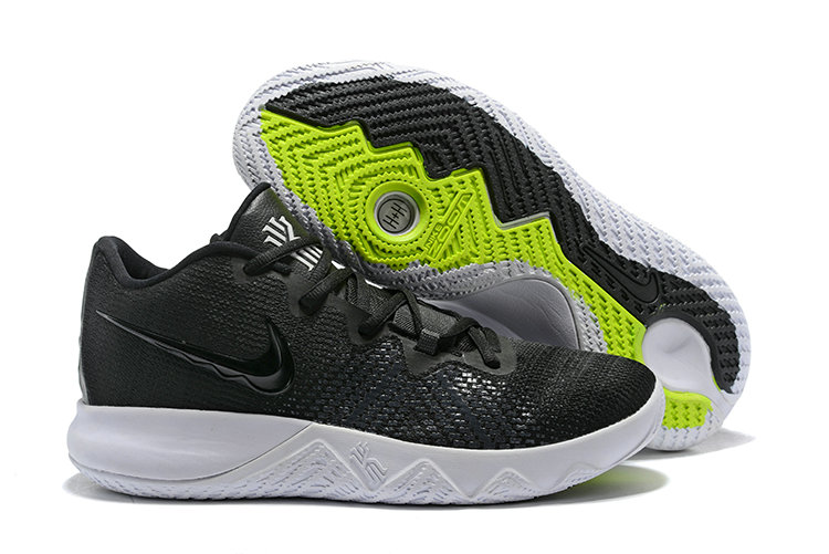 2018 Cheap Wholesale Nike Kyrie Irving Flytrap Black White