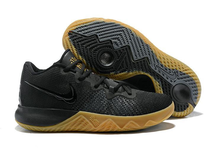 2018 Cheap Wholesale Nike Kyrie Irving Flytrap Gold Black