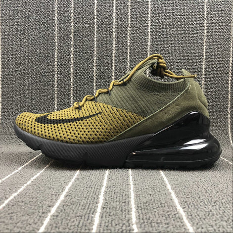 Cheap Wholesale NikeLab Air Max x Cheap Wholesale Nike Air Max 270 Army Green Dark Green-Black Vert Fonce Vert Noir