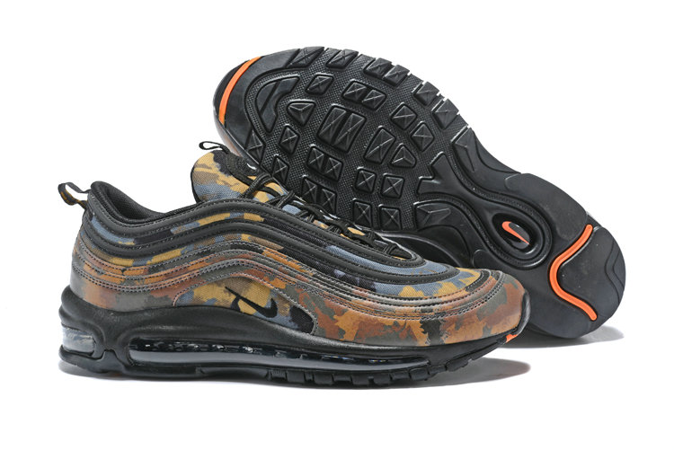 Cheap Wholesale NikeLab Air Max x Cheap Wholesale Nike Air Max 97 Camo Pack Black Orange Hyper