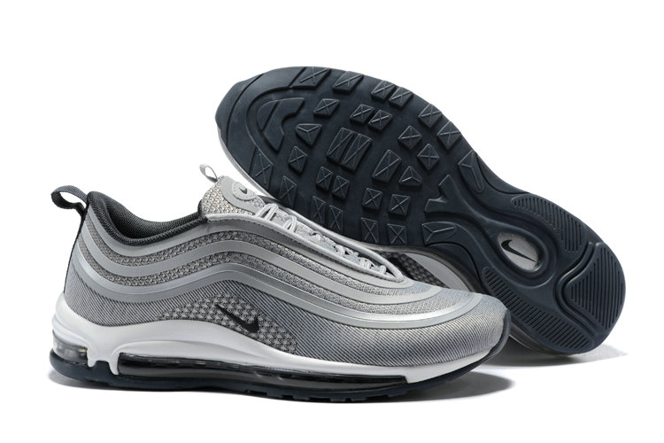Cheap Wholesale NikeLab Air Max x Cheap Wholesale Nike Air Max 97 Ultra Silver Grey Black