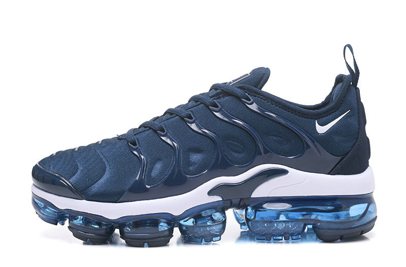 Cheap Wholesale NikeLab VaporMax x Cheap Wholesale Nike Air Vapormax Plus Collegiate Navy White