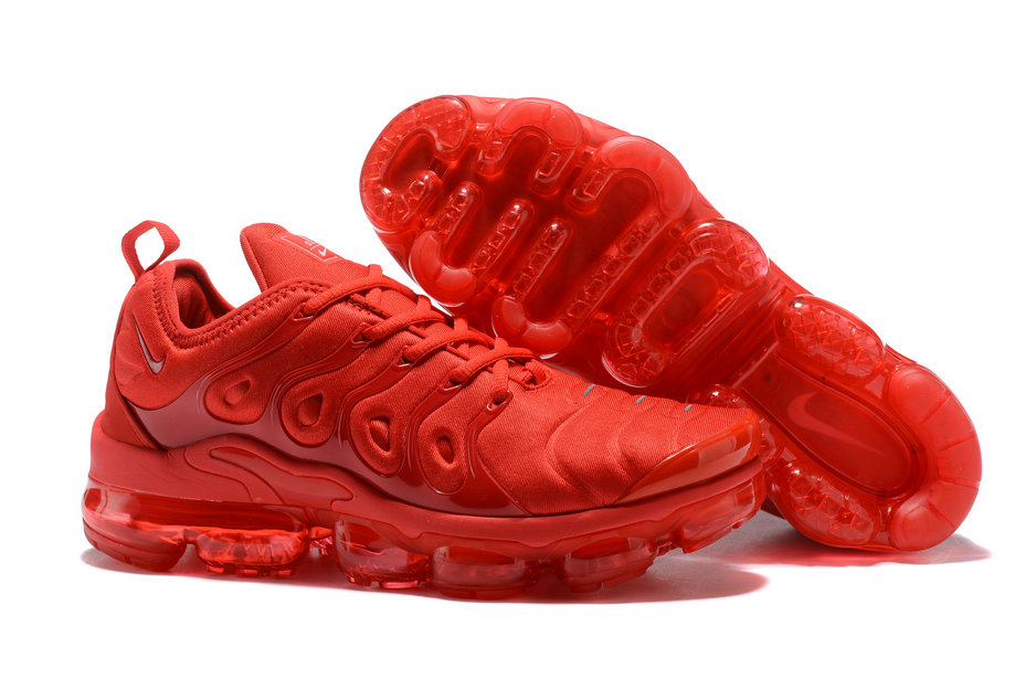 Cheap Wholesale NikeLab VaporMax x Cheap Wholesale Nike Air Vapormax Plus Triple University Red