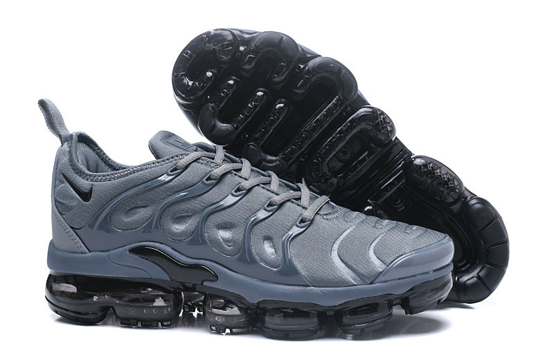 Cheap Wholesale NikeLab VaporMax x Cheap Wholesale Nike Air Vapormax Plus Triple Wolf Grey