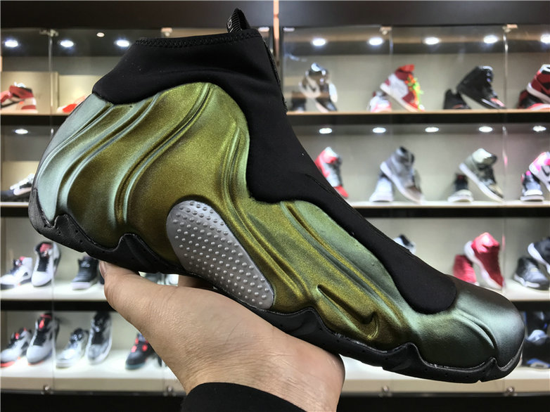 Cheap Wholesale Nike Flightposite x Cheap Wholesale Nike Air Flightposite One Champaign Gold