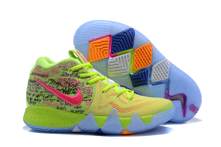 Cheap Wholesale Nike Kyrie Shoes x Cheap Wholesale Kids Kyrie 4 Confetti Multi-Color-Multi-Color 943806-900