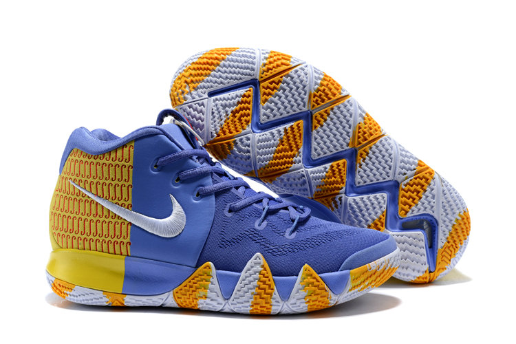 2f0e7237a1dd Cheap Wholesale Nike Kyrie Shoes x Cheap Wholesale Nike Kyrie 4 London PE  Yellow Blue Orange